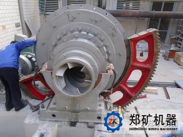 节能球磨机所匹配的电机功率可降低18 - 25%,节约润滑油70%,节约冷却